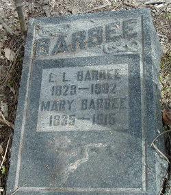 Mary Jane <I>Corley</I> Barbee