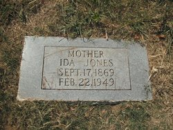 Ida Addie <I>Davis</I> Jones