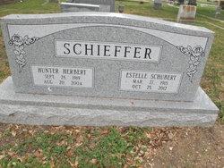 Estelle <I>Schubert</I> Schieffer