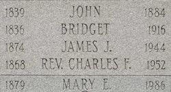Rev Charles F. Hannigan