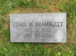 Ethel <I>Howe</I> Bramblett