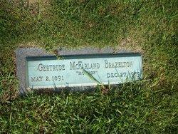 Gertrude <I>McFarland</I> Brazelton