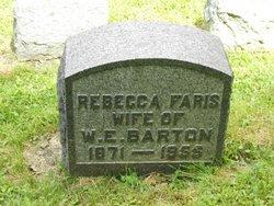 Rebecca <I>Faris</I> Barton