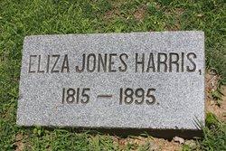 Eliza Woodson <I>Jones</I> Harris