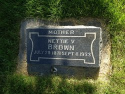 Nettie Victoria <I>Barlow</I> Brown