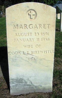 Margaret <I>Moes</I> Birtwistle