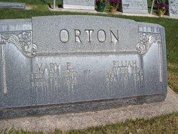 Mary Ellen <I>Anderson</I> Orton