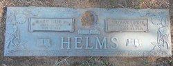"""Thomas Lexie """"T.L."""" Helms"""