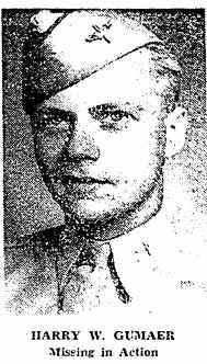 2Lt Harry W Gumaer, Jr