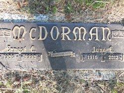 Ernest C McDorman