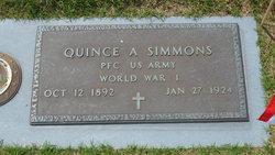 Quince Albert Simmons