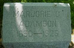 Marjorie C Adamson
