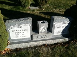 Johanna Marie <I>Borgeson</I> Bray