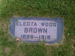 Electa <I>Wood</I> Brown