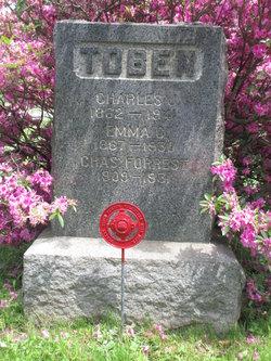 Emma C <I>Hibbins</I> Toben