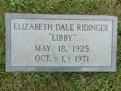 Elizabeth Ann <I>Dale</I> Ridinger