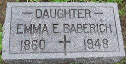 Emma E Baberich