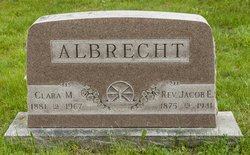 Clara Mary Louise <I>Althoff</I> Albrecht