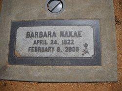 Barbara <I>Smith</I> Nakae