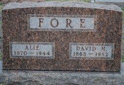 "Alice ""Alie"" <I>Brown</I> Fore"