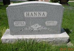 Myrna B <I>Reece</I> Hanna