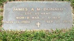 LTC James Andrew McDonald, Sr