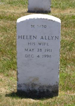 Helen Claire <I>Allyn</I> Sinclair