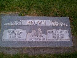 Jennie Diamond <I>Leffler</I> Brown