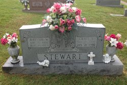 Grace Amanda <I>Burge</I> Stewart