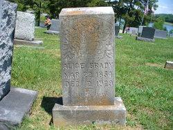Alice <I>McGoldrick</I> Brady