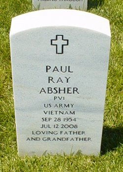 Pvt Paul Ray Absher
