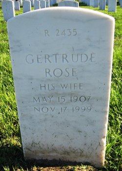 Gertrude Rose <I>Porter</I> Cullen