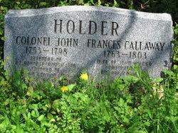 """Frances Walton """"Fanny"""" <I>Callaway</I> Holder/ McGuire"""