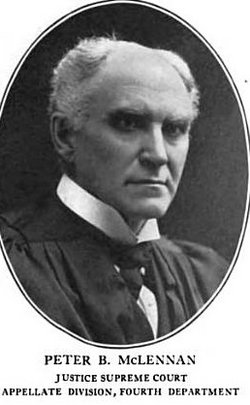 Judge Peter Baillie McLennan