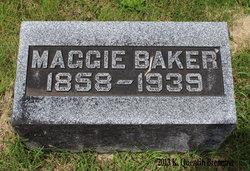 """Margaret """"Maggie"""" <I>Hanley</I> Baker"""