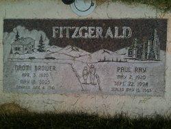 Paul Ray Fitzgerald