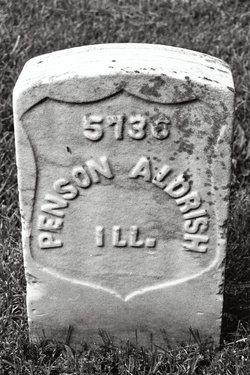 Pvt Benson Aldrish