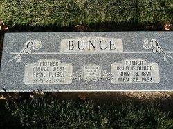 Maude <I>West</I> Bunce