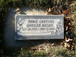 Marie <I>Griffiths</I> Brown
