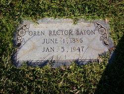 Oren Rector Baton
