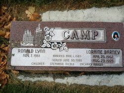 Loraine <I>Barney</I> Camp