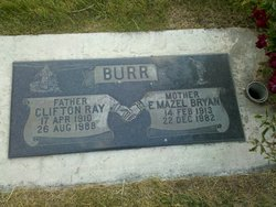 Emily Mazel <I>Bryan</I> Burr
