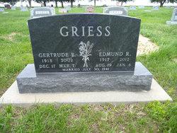 Edmund R Griess