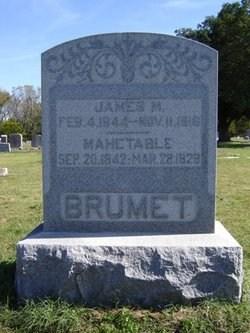 James M Brummett