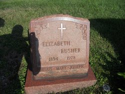 Elizabeth Busher