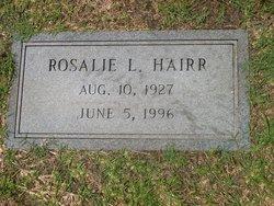 Rosalie <I>Lewis</I> Hairr