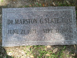 """Dr Marston George """"Sonny"""" Slate"""