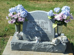 Norma Jean <I>Cox</I> Asbell