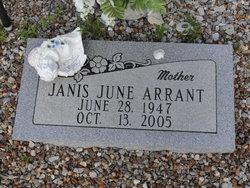 Janis June <I>McDade</I> Arrant