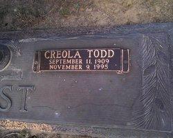 Creola <I>Todd</I> West